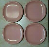 Vintage Boontonware Melmac Melamine Pink Plates #1105
