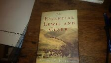 The Essential Lewis and Clark by Landon Y. Jones 2002 Hardcover with Dust Jacket