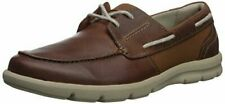 Clearance Clarks Men's Jarwin Edge Sneaker - Tan Leather - Size 12 USA