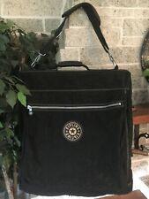 KIPLING GARMENT CARRY ON LUGGAGE BAG TRAVEL BLACK FOLD OVER SHOULDER SUIT DRESS