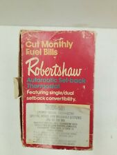 Robertshaw Automatic Set Back Thermostat  TH 300-501 Vintage 1973