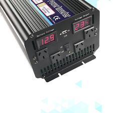 8000W Max 4000W Power Inverter Modified Sine Wave DC 12V to AC 240V converter