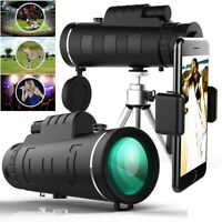 New Night Vision 40X60 HD Optical Monocular Telescope For Hunting Camping Hiking