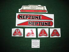 Antique Neptune outboard motor decals