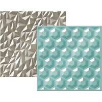 American Crafts We R Memory Keepers Next Level Embossing Folder, Gemstone