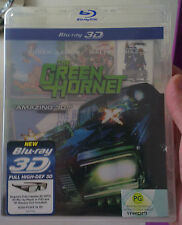 Green Hornet Blu-Ray, Bluray (3D, Single Disc), Starring Jay Chou