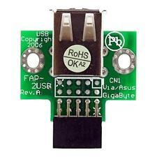 USBMBADAPT2 Startech 2 Port USB Motherboard Header Adaptor
