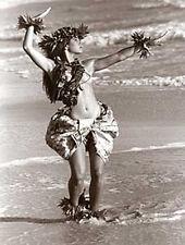 "Kim Taylor Reece ""Ki'ipa"" 11 X 14 Double Matted Hawaiian Hula Print - New"