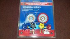 """Imperial, 4-Valve Manifold, (4) 60"""" Hose Set with """"LOW-LOSS"""" FITTINGS, 652-C,"""