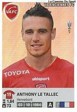 N°480 ANTHONY LE TALLEC # FRANCE FC.VALENCIENNES STICKER  PANINI FOOT 2013