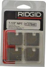 """RIDGID 37845 1-1/2"""" NPT PIPE THREADING DIES RH 12-R O-R 11-R 111-R 00-R 31-A NEW"""