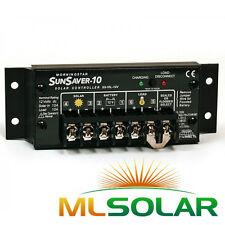 MorningStar SunSaver SS-10-12V Solar Panel Battery Charge Controller 12V Battery