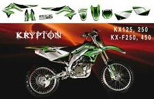 KIT DECO DREAM GRAPHICS II POUR KAWASAKI KX125,250 03-08