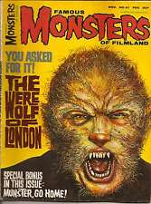 FAMOUS MONSTERS OF FILMLAND ISSUE 41 FROM NOV. 1966