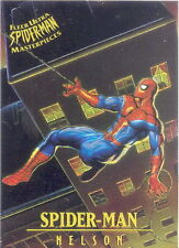 SPIDER-MAN 1995 FLEER ULTRA MASTERPIECES INSERT CARD 5 OF 9 SPIDER-MAN NELSON MA