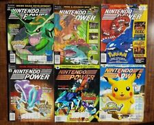 NINTENDO POWER Pokemon Covers Volumes 138 + 142 + 147 + 167 + 184 + 192