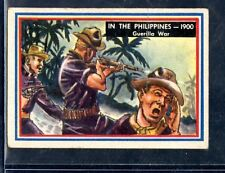 1953 Topps Fighting Marines SP High #82 In the Philippines 1900 Gurilla War VG+