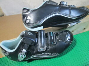 Women's Bontrager Road Race DLX Inform Bicycle Cycling Spin Shoes Size US 9.5
