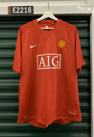 Manchester United Jersey Kit 2007-2009 Nike FIT Size XL Brand New Red Home