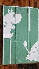 "100% Organic Cotton Moomin Goes gron (Green) Baby Blanket 28"" x 41"" by Ekelund"