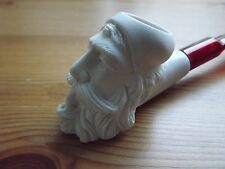 Turkish Mini Meerschaum Hand Carved Tobacco Pipe Dunhill