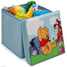 Disney Winnie the Pooh 2 in1 Hocker Spielzeugkiste Sitz Box Puuh Bär 85872WP