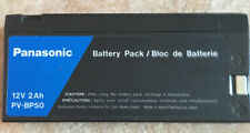 PANASONIC BATTERY PACK 12 VOLT 2 Ah PV-BP50 - READ FULL DESCRIPTION!