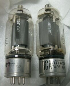 RCA 813 Tubes - NOS - Pair (2)