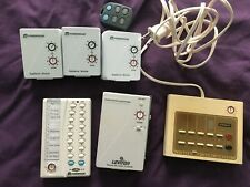 Lot of X10 Modules, Receiver, Remotes Powerhourse Leviton Stanley