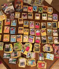 HUGE 300+ POKEMON CARD STARTER/BATTLE DECK- 300+CARD LOT(3 RARE/LVL-X/EX)+HOLOS!