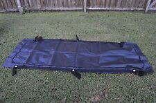 U.S. MILITARY ISSUED BODY BAG/HUMAN REMAINS BLACK BAG