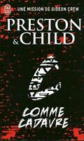 Livre de poche policier Preston & Child  C comme cadavre book