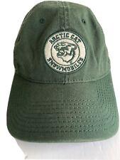 Arctic Cat Snowmobile Hat Vintage Green Adjustable Strap