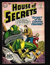 "House of Secrets #37 ~ ""The Secret of the Captive Creature!"" ~ (4.0) 1960 WH"
