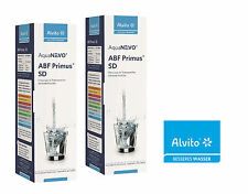 2 x Alvito Filtre à eau ABF Primus SD - Charbon actif à bloc AquaNEVO 0,45 µm