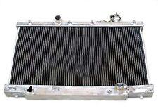 2 ROW Performance Aluminum Radiator for 2002-2005 Honda Civic Si SiR 2.0L MT New