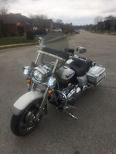 "Harley Davidson Road King windshield tinted OEM height 19"" Lexan polycarbonate"