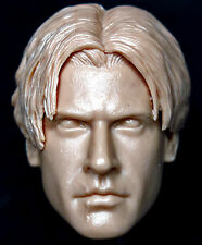 "1/6 scale resin unpainted action figure head sculpt ezio assassin's creed 12"""