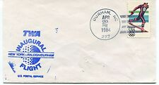 FFC 1984 First Flight TWA New York-Raleigh/Durham US Postal Service Inaugural