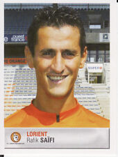 158 RAFIK SAIFI FC.LORIENT ALGERIE MC.ALGER STICKER FOOT 2007 PANINI