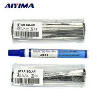 Tabbing Wire Bus Wire Welding Strip Weld Pen  For DIY Solar Cells & Solar Panels