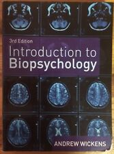 Introduction to Biopsychology by Andrew Wickens (2009, Paperback)
