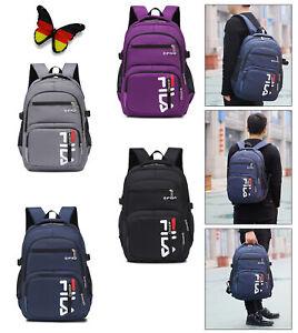 FILA Unisex Backpack School Bag Travel Travel Laptop Backpack