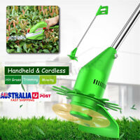Portable Li-ion Battery Cordless Line Grass Trimmer Whipper Snipper Garden