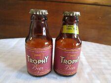 Trophy Beer Bottle Salt & Pepper Shakers Turkey Run State Park Muth Buffalo