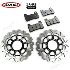 Fit Honda CBR600RR 2005 - 2014 2013 2012 Front Brake Discs Rotors & Brake Pads