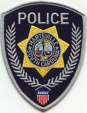 HARTSVILLE SOUTH CAROLINA SC POLICE PATCH