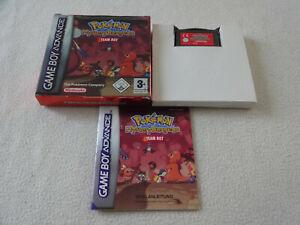 Pokemon Mystery Dungeon Team Rot GBA Game Boy Advance Spiel mit OVP & Anleitung