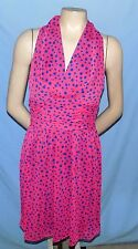 Awesome & Chic Marc New York Fully Lined Pokadot Dress Size 6 Party or Club