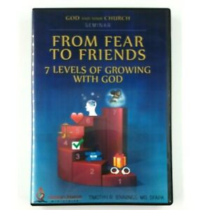 GOD AND YOUR CHURCH SEMINAR From Fear to Friends (2015, 2-DVD Set)